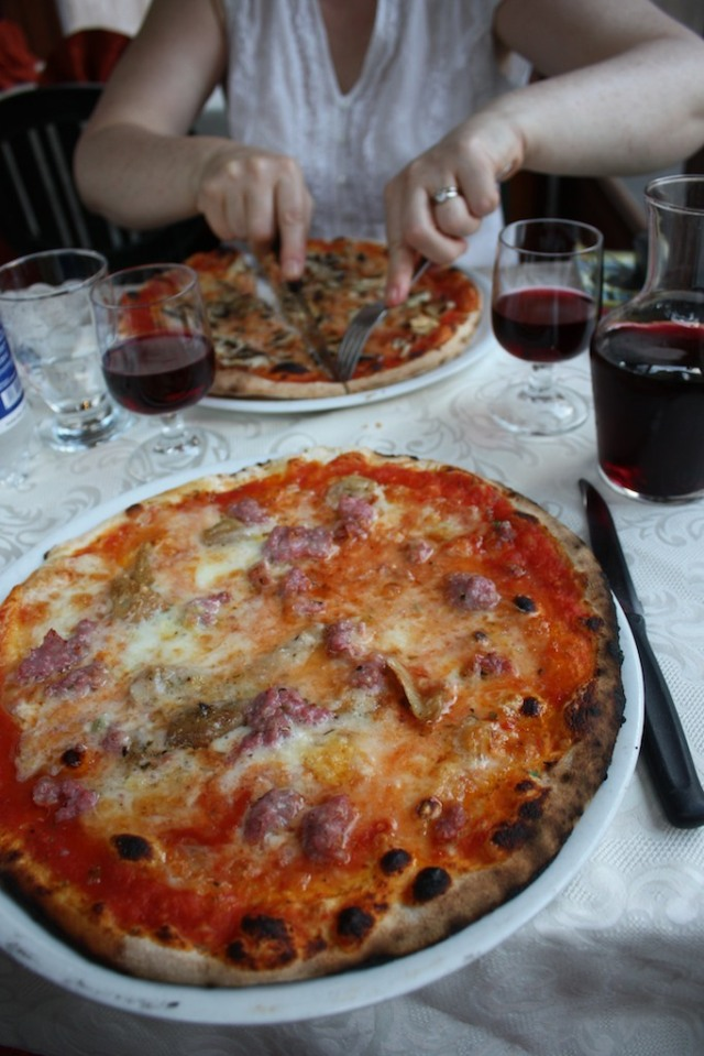 Pizza in Torino