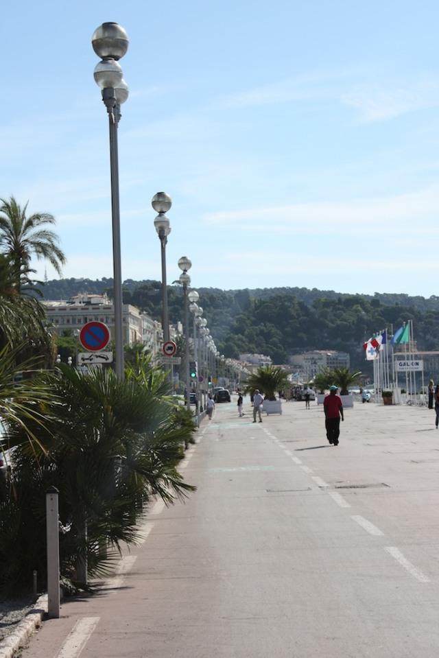 The promenade Nice